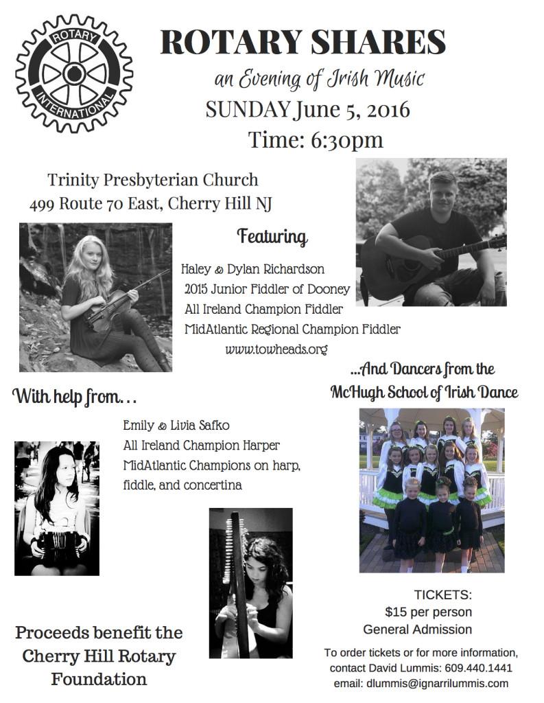 Rotary Irish Concert