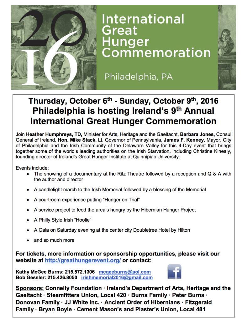 2016 Int'l Great Hunger Commemoration 160923
